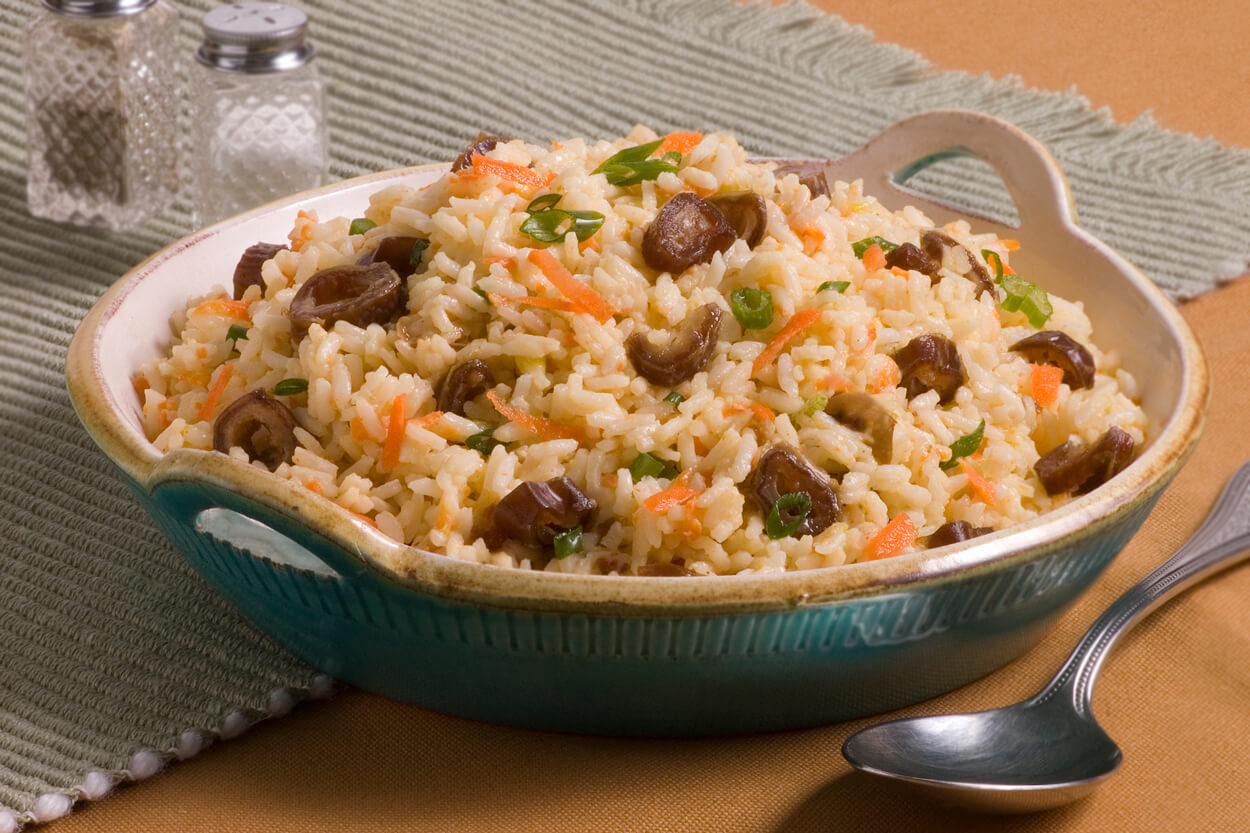 Coconut Rice with Dates