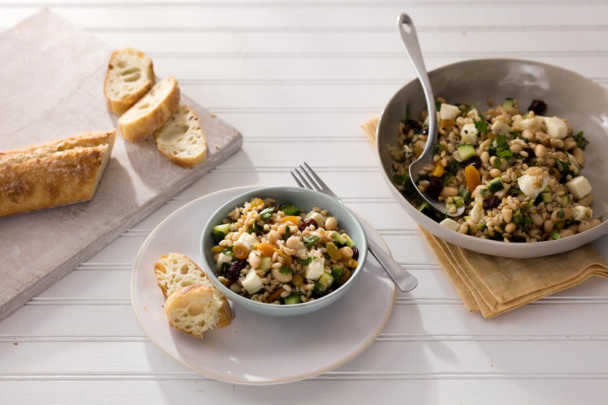 Farro & White Bean Salad