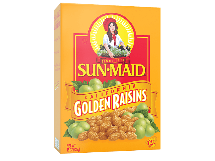 Sun-Maid California Golden Raisins 15 oz. box