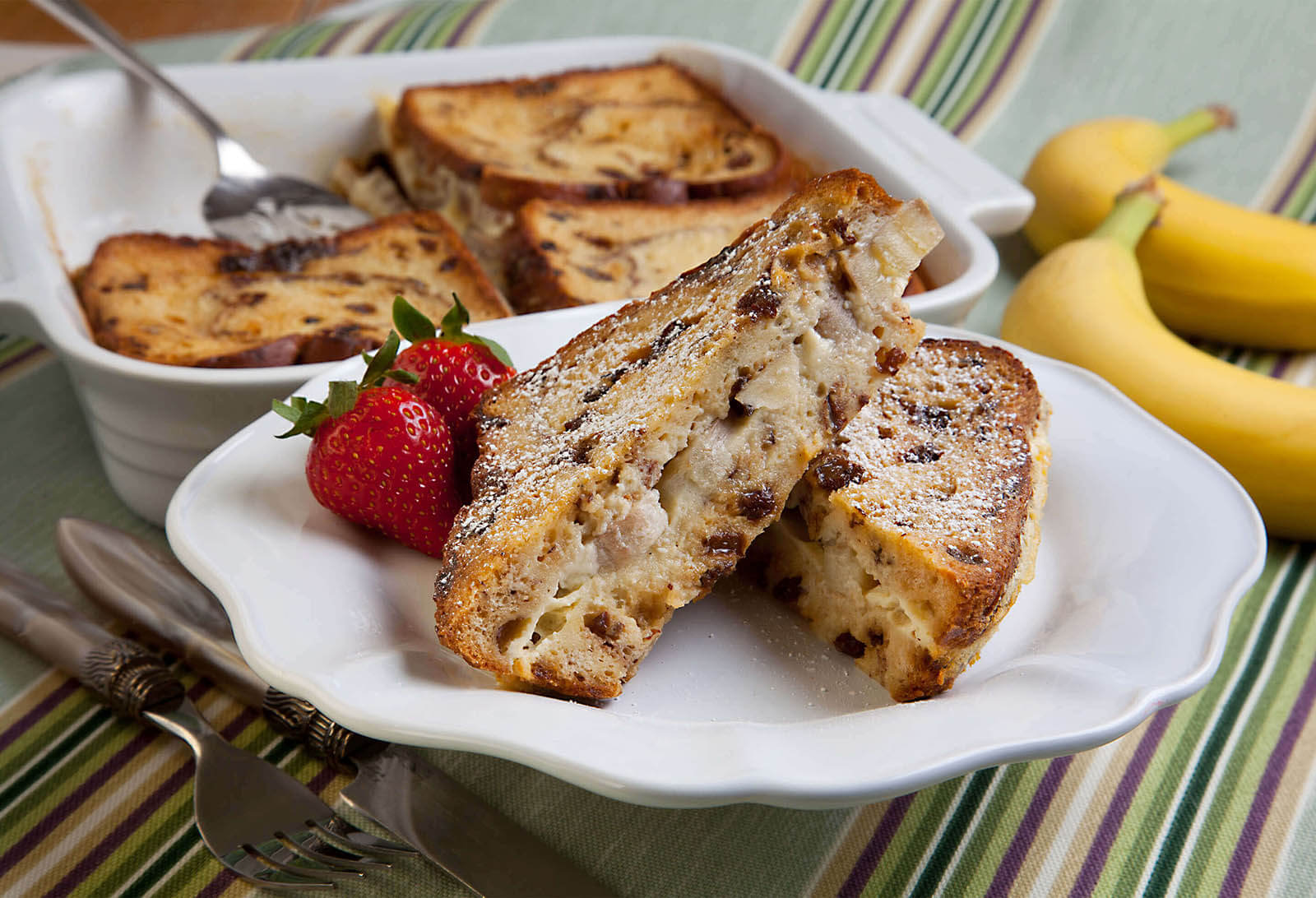 Banana Raisin French Toast
