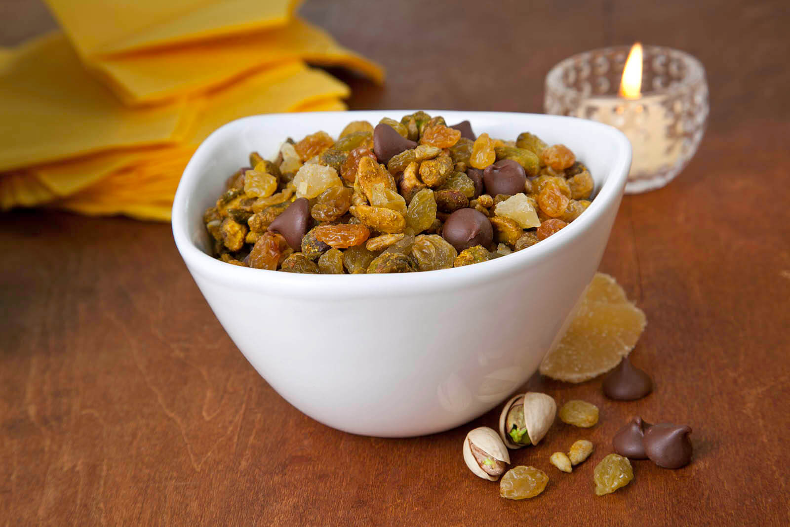 Curry-Spiced Chocolate Nut Mix